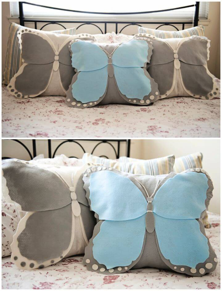 How To Create Your Own Butterfly Pillow For Home