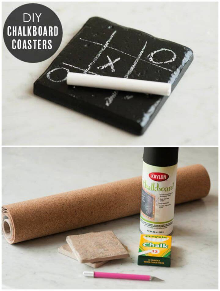 How To Create Your Own Chalkboard Coasters