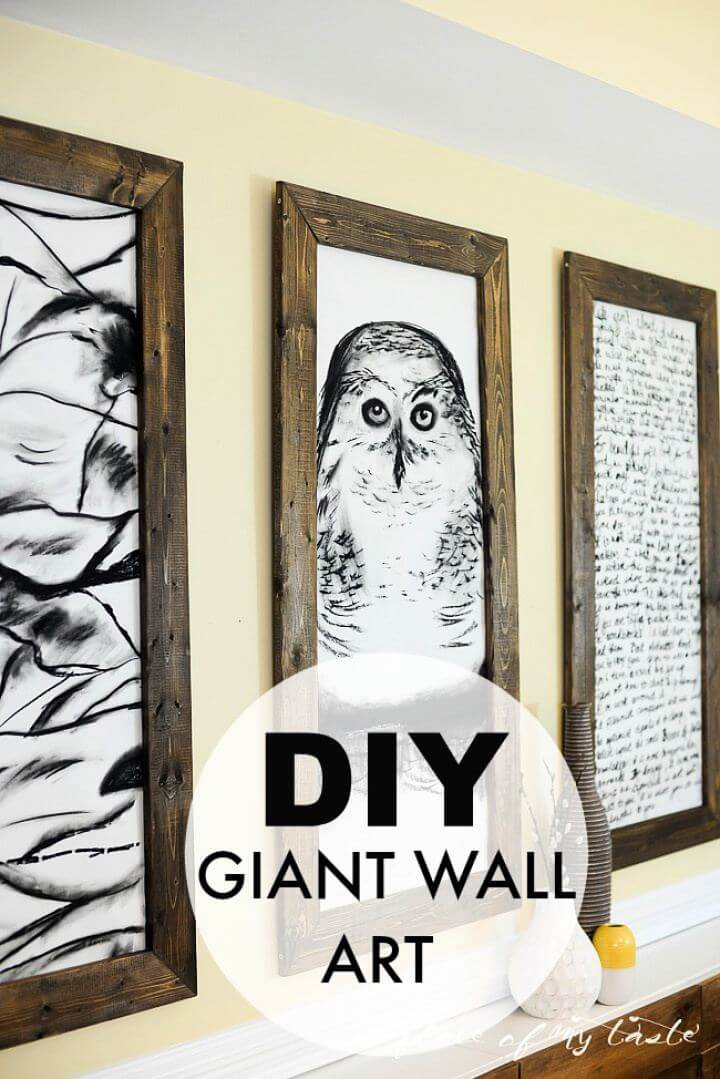 How To Create Your Own Giant Wall Art