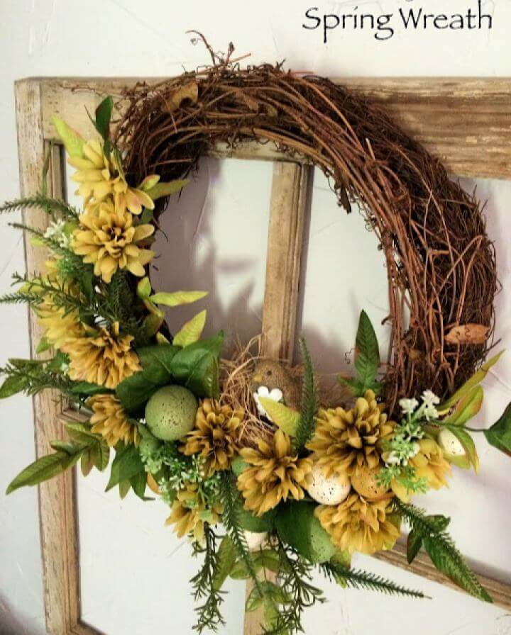 How To Create Your Own Spring Wreath