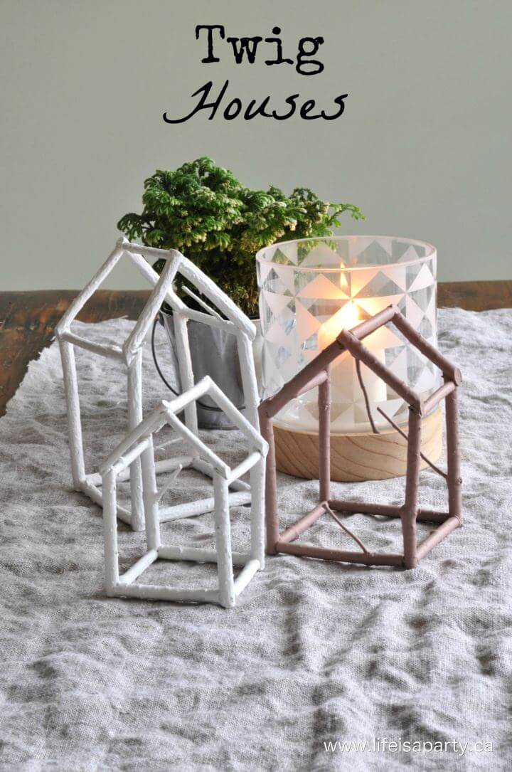How To Create Your Own Twig Houses Gift