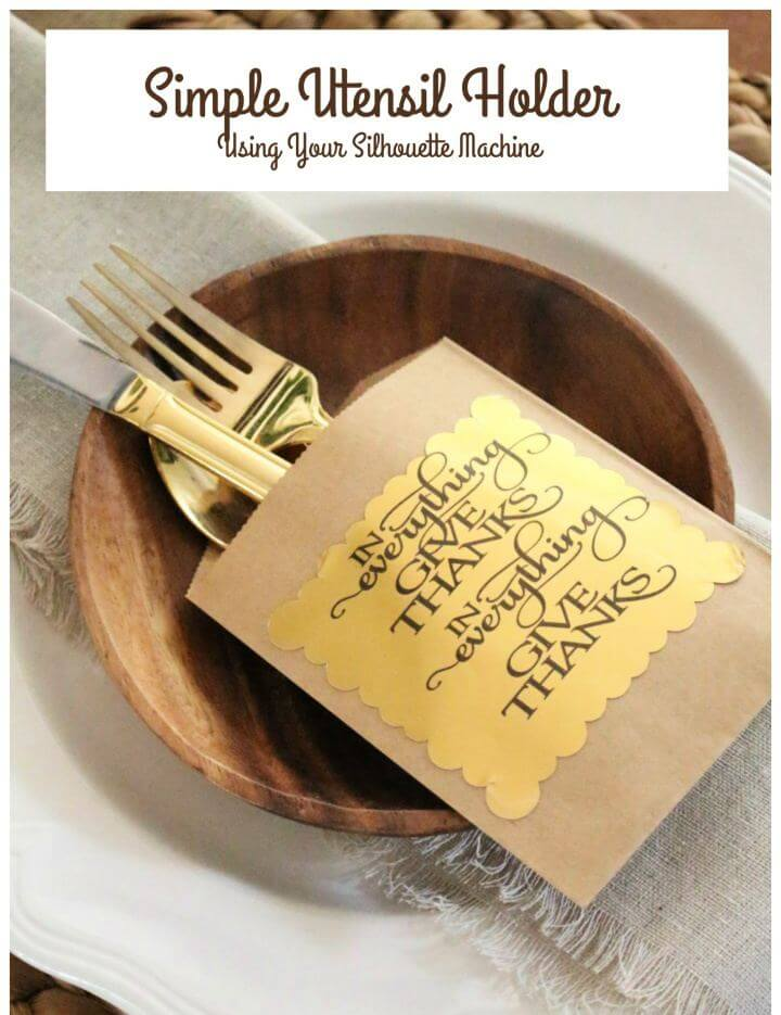 How To Create Your Own Utensil Holders