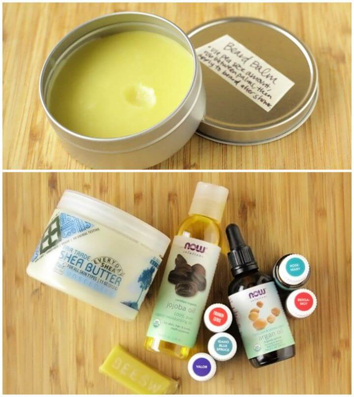 How To DIY Beard Balm For Him