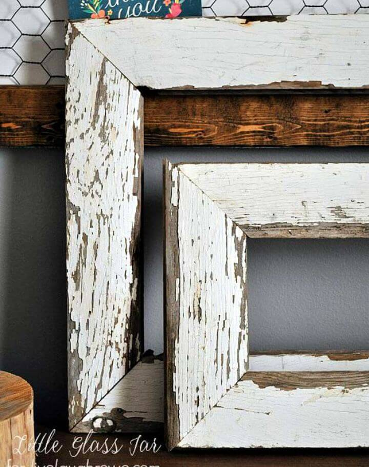 How To DIY Farmhouse Picture Frames