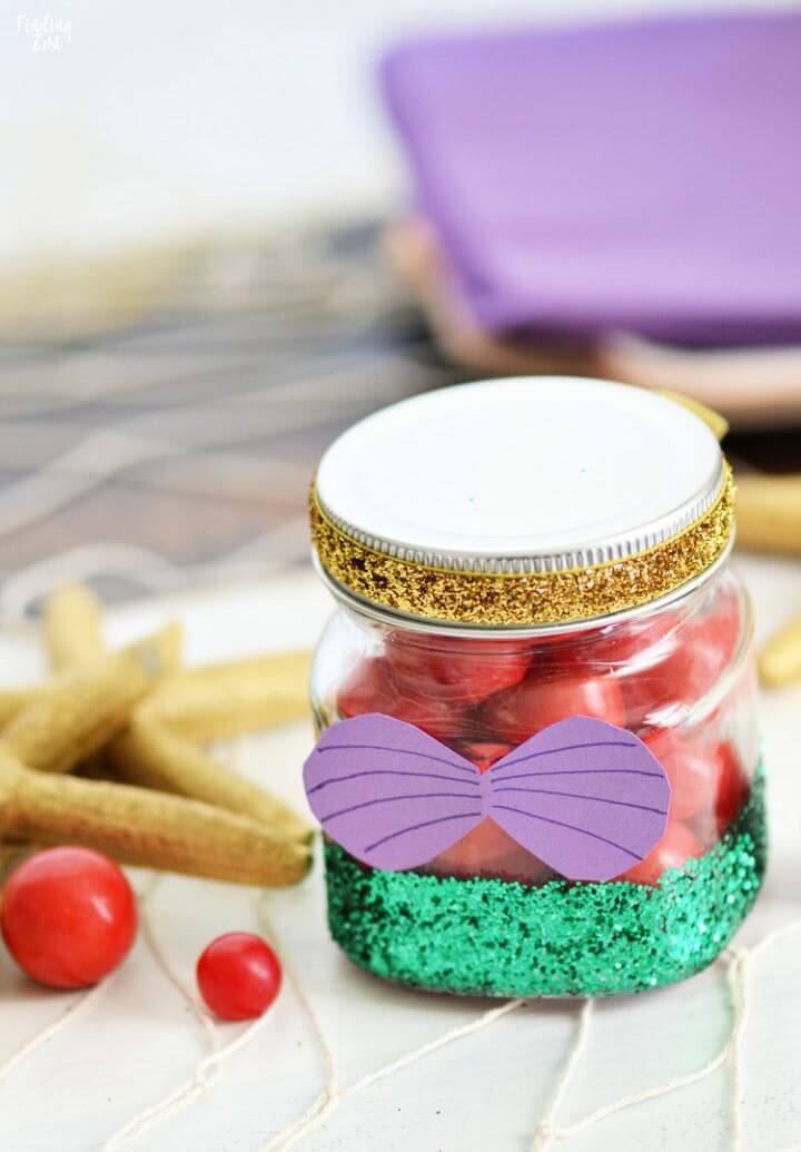 How To DIY Glitter Jar Tutorial