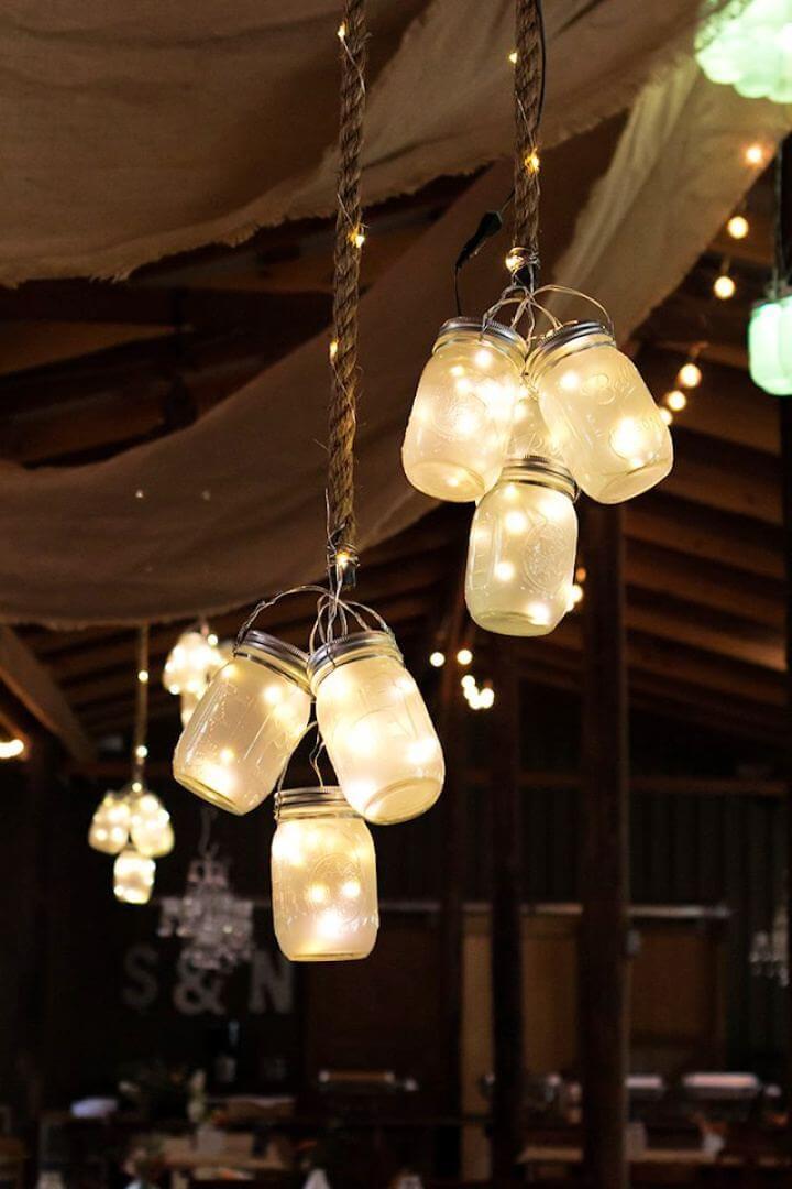 How To DIY Led Mason Jar Lights