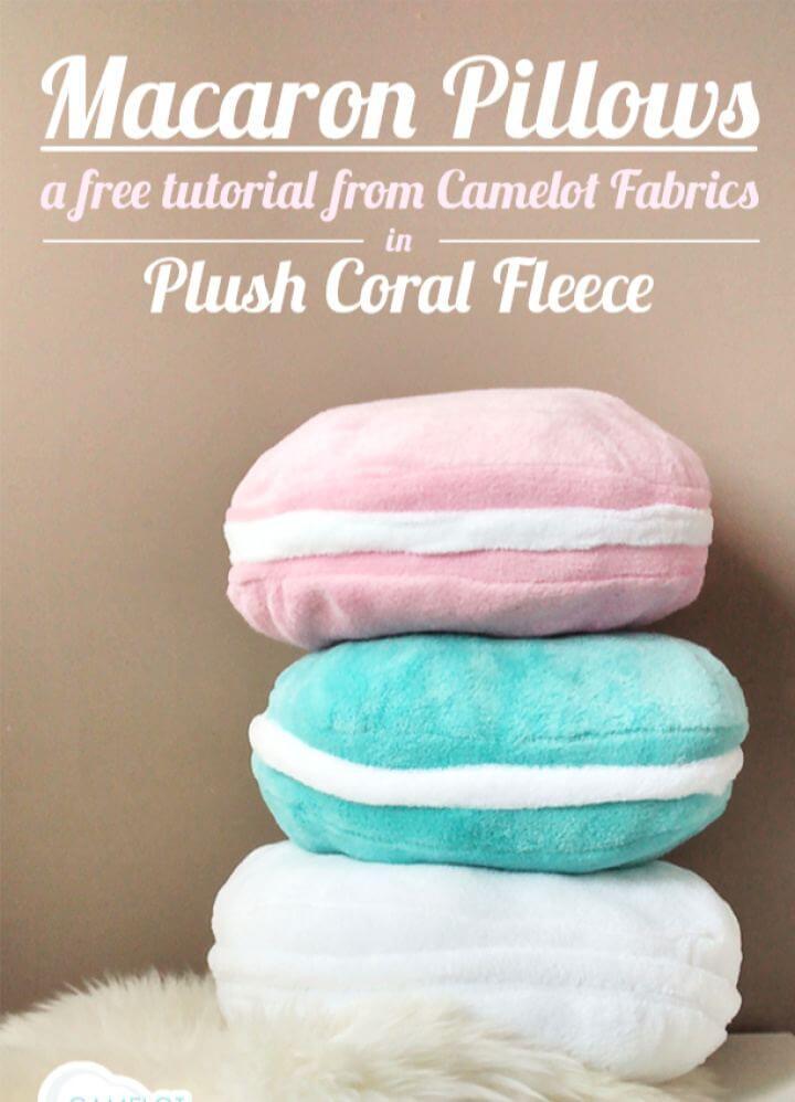 How To DIY Macaron Pillows Tutorial