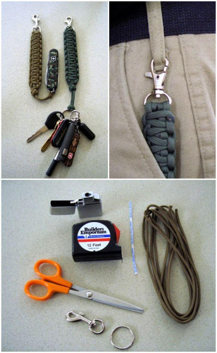How To DIY Paracord Lanyard Gift For Him