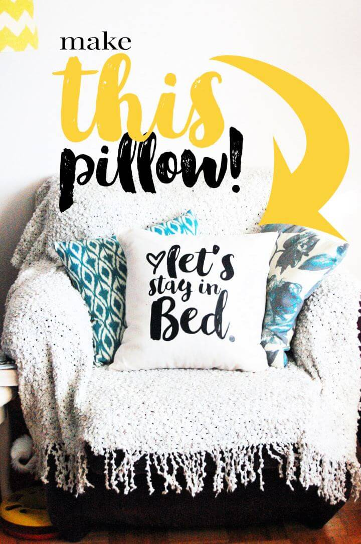 How To DIY Pillow For Home