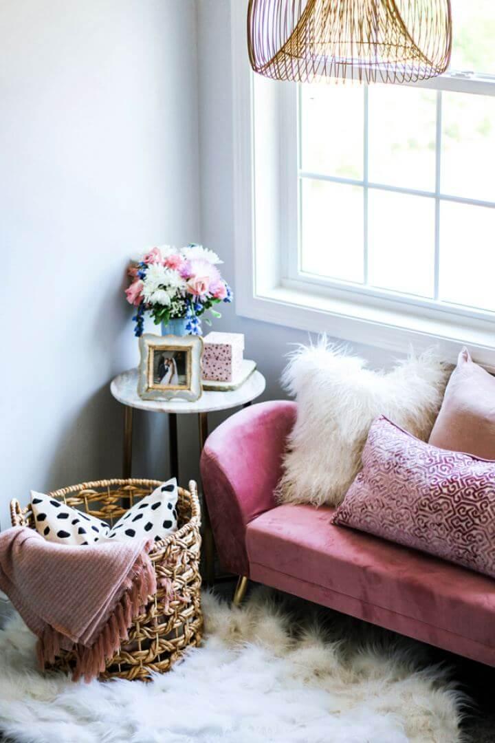How To DIY Style A Cozy Bedroom Nook