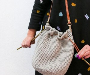 How To Make A Crochet Bucket Bag