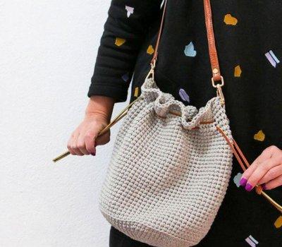 How To Make A Crochet Bucket Bag