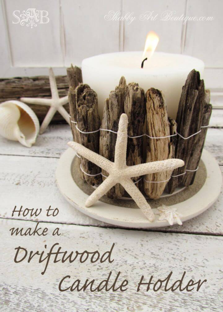 How To Make A DIY Candle Holder Tutorial