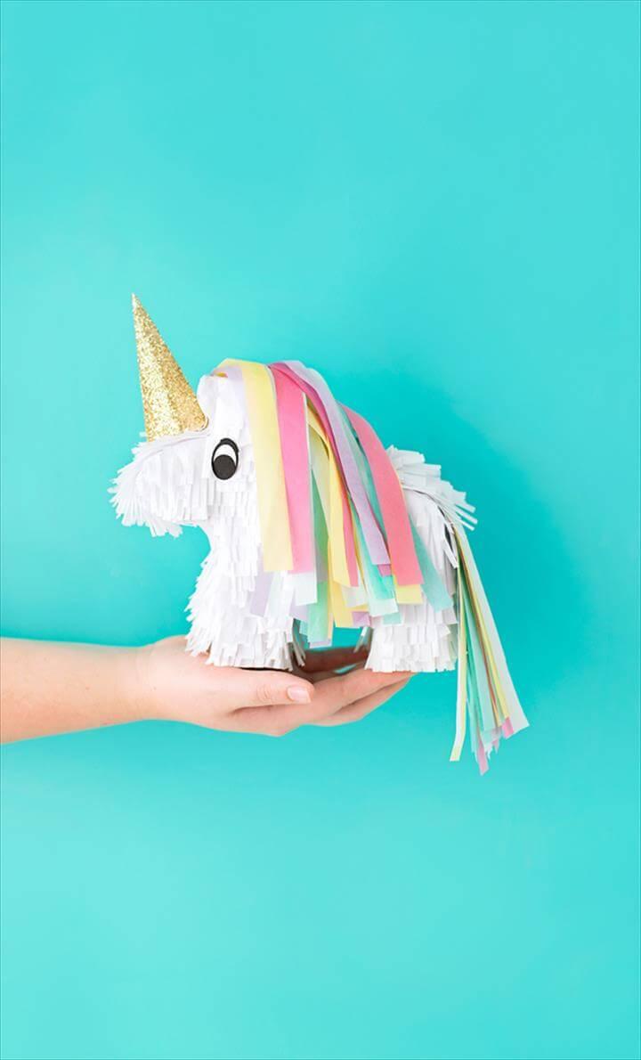 How To Make A DIY Unicorn Piniata