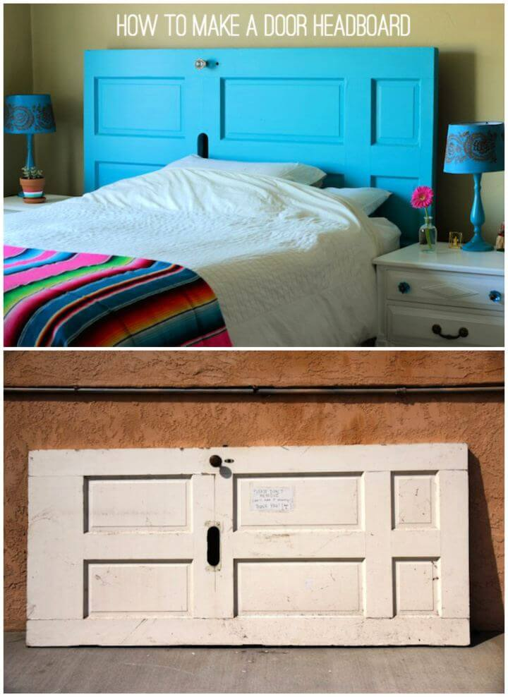 How To Make A Door Headboard
