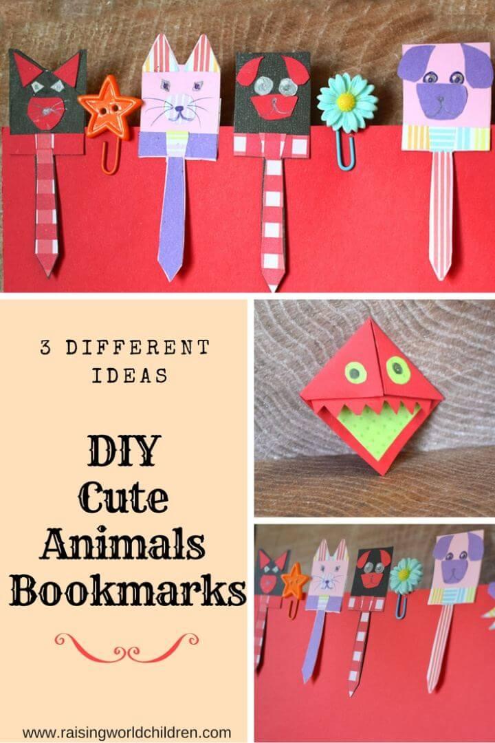 How To Make Animal Bookmark