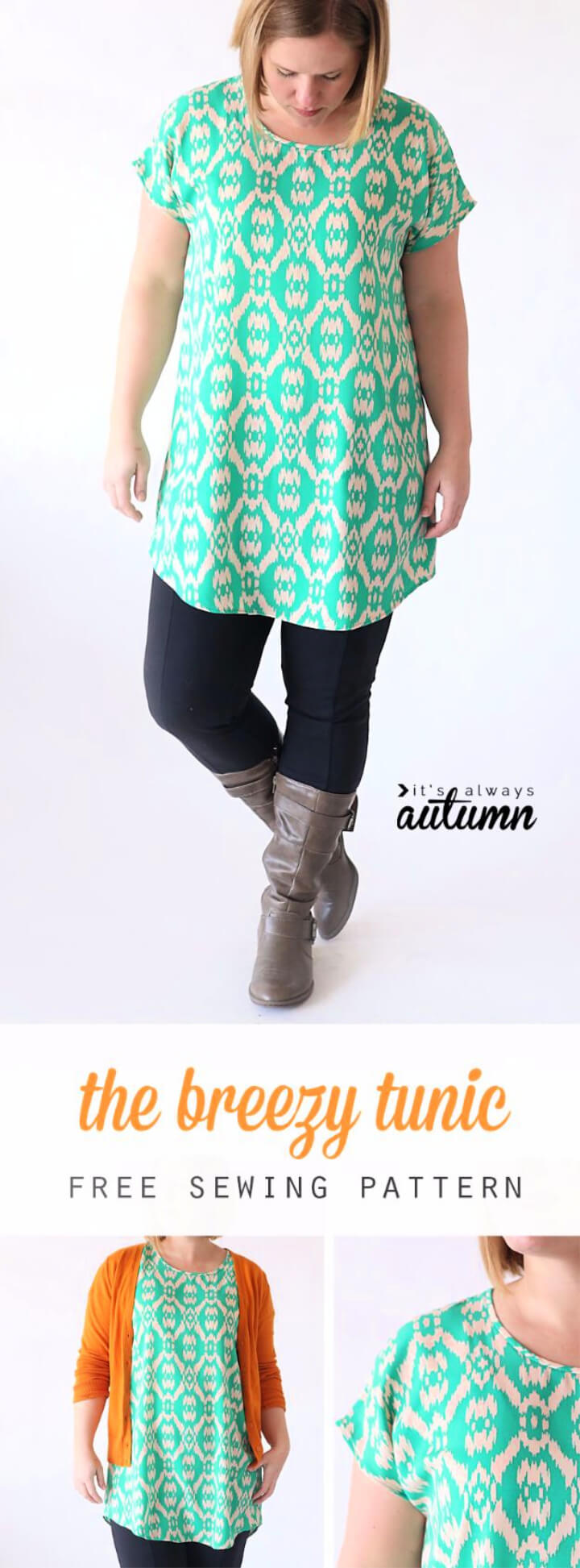 How To Make Breezy Tee Tunic