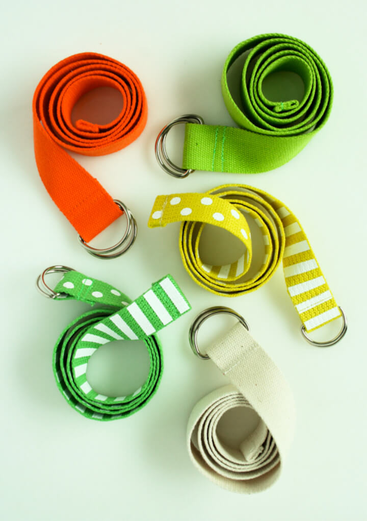 How To Make DIY Fashion Accessories d Ring Belt