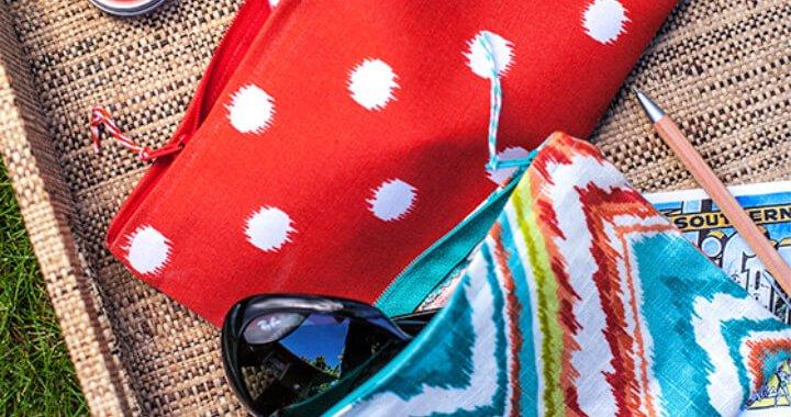 How To Make DIY Fashion accessories Sewn Zipper Bag