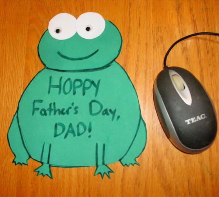 How To Make DIY Father's Day Mouse Pad