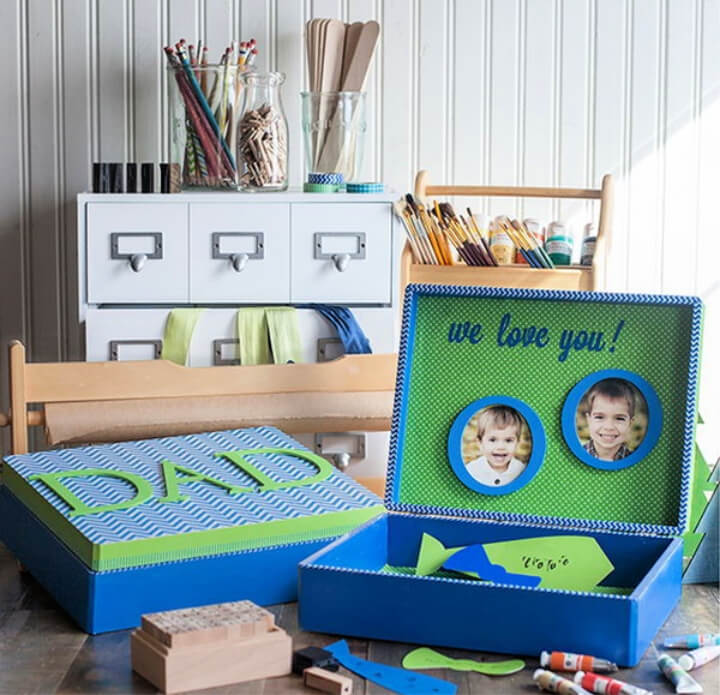 How To Make DIY Father's Day Treasure Box