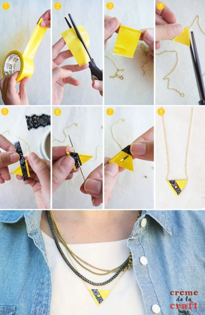 How To Make DIY Feather Necklace