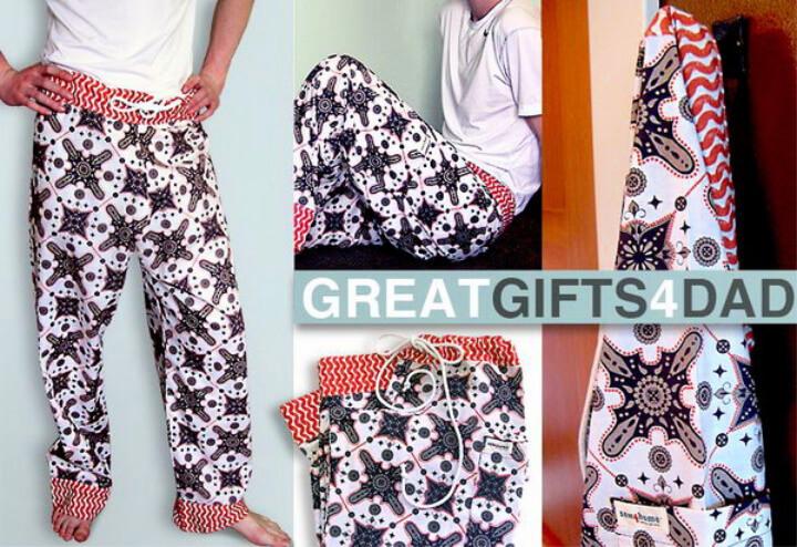 How To Make DIY Pajama Pants for Dad