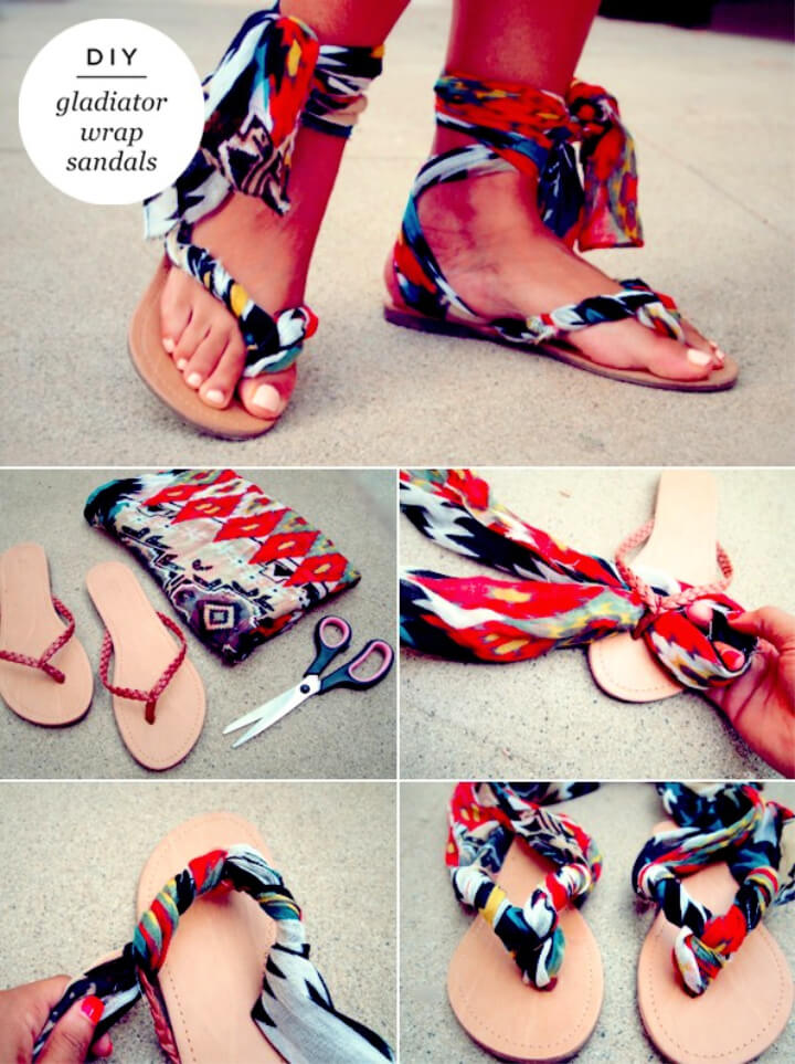 How To Make DIY Sandals