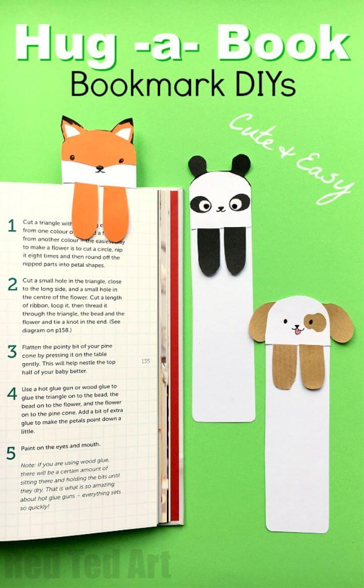 How To Make Dog DIYs Cute Bookmarks DIY