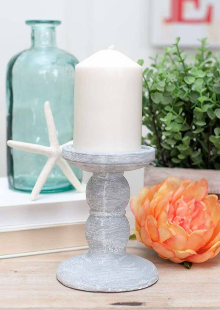 How To Make Dollar Tree Candle Holder