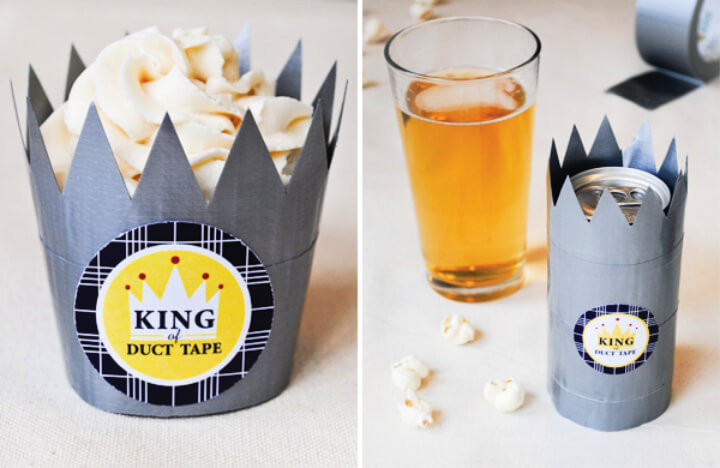 How To Make Duct Tape Treat Crowns