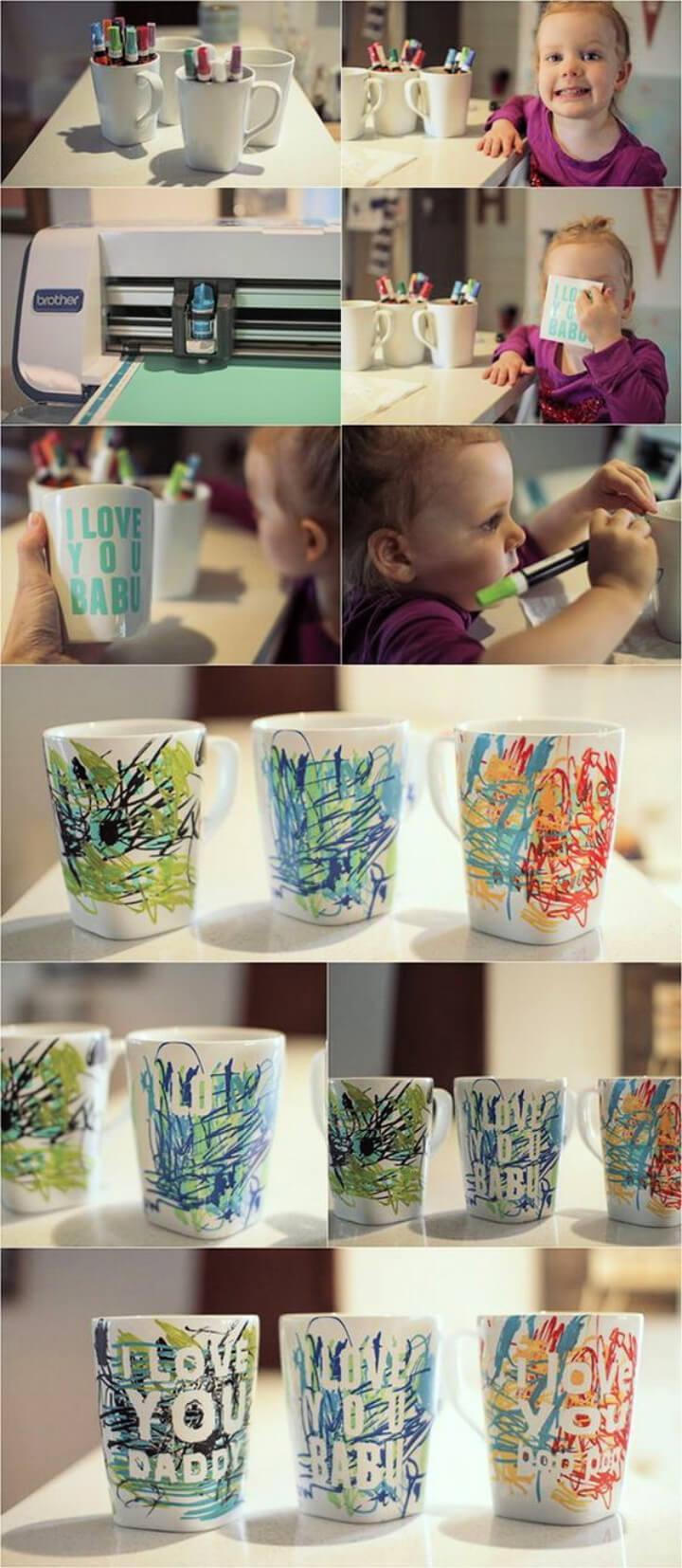How To Make Father'S Day Coffee Mug