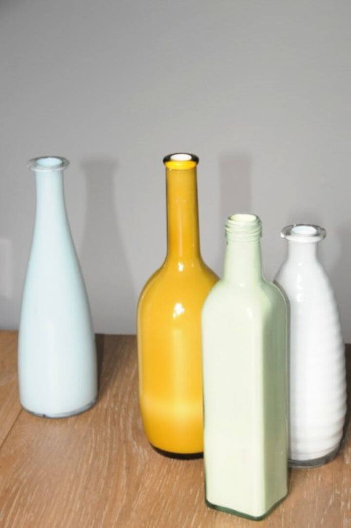 How To Make Faux Milk Glass