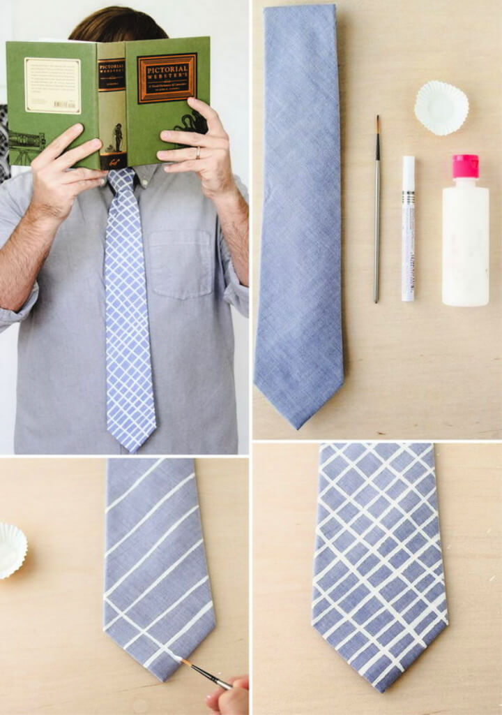 How To Make Hand Painted Ties DIY