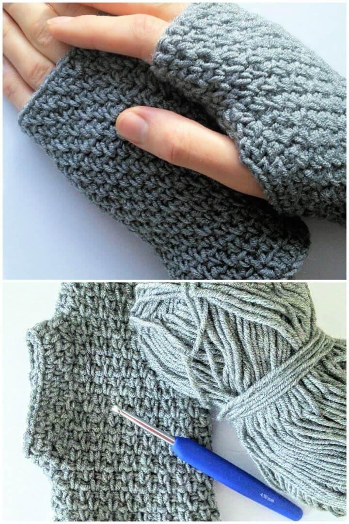 How To Make Photographer Crochet Gloves