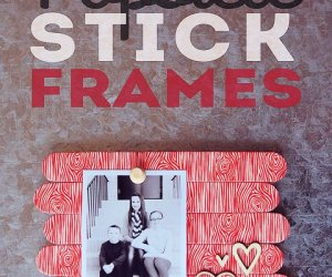 How To Make Popsicle Stick Frames