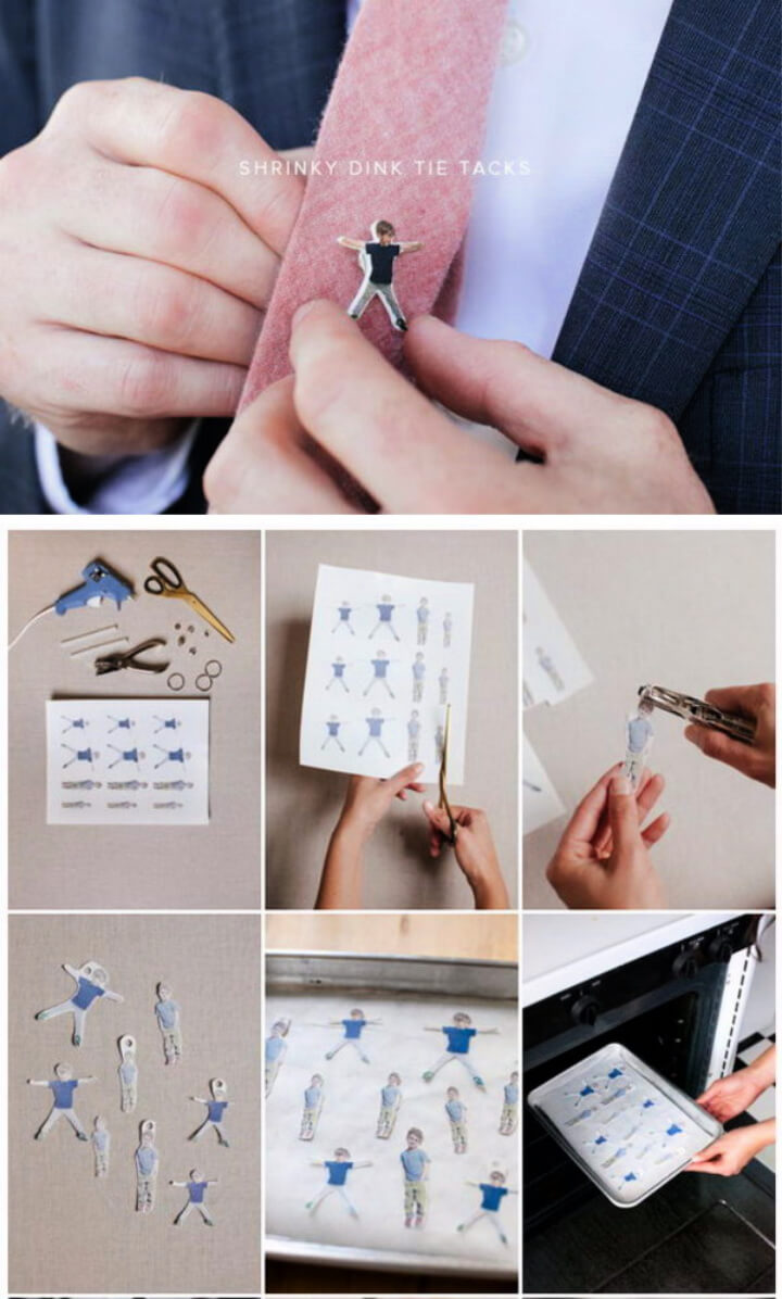 How To Make Shrinky Dink Tie Tack