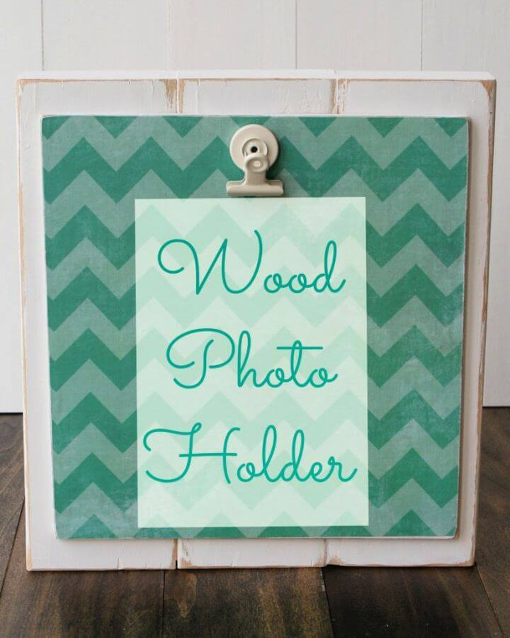 How To Make Wood Photo Holder