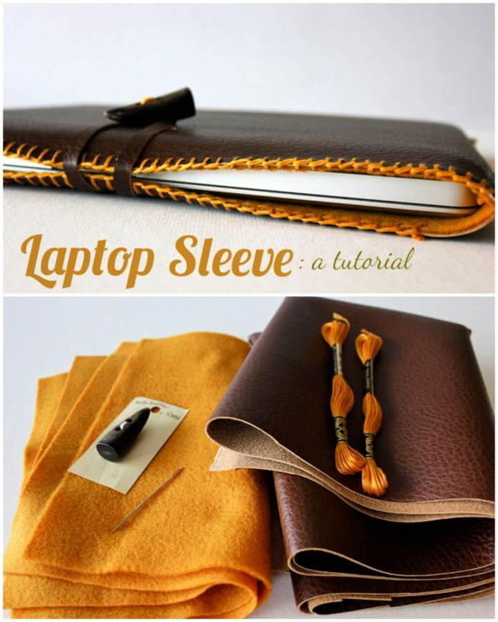 How To Make Your Own Laptop Sleeve Gift For Him