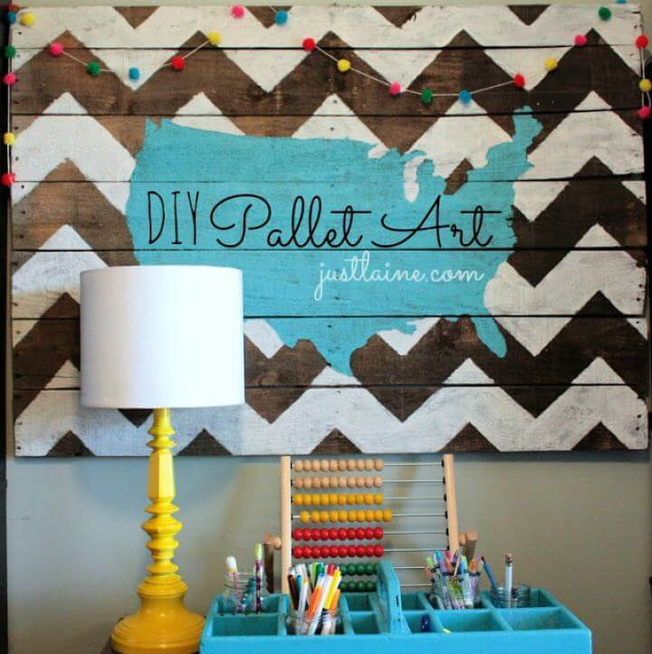 How To Make Your Own Pallet Wall Art