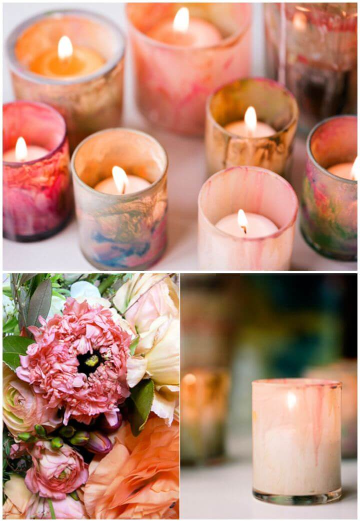 How To Painted Candle Holder