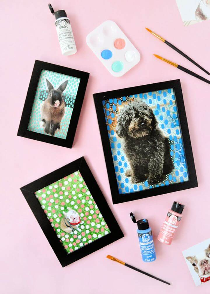 How To Painted Picture Frames