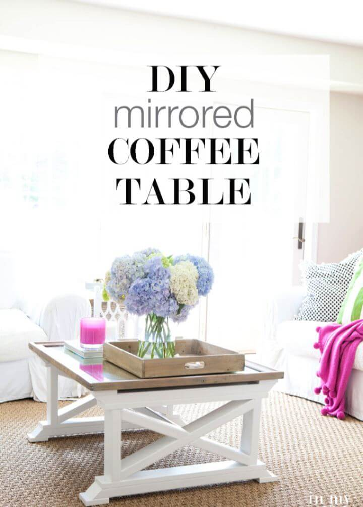 How To Repurposed Mirror Coffee Table For Living Room