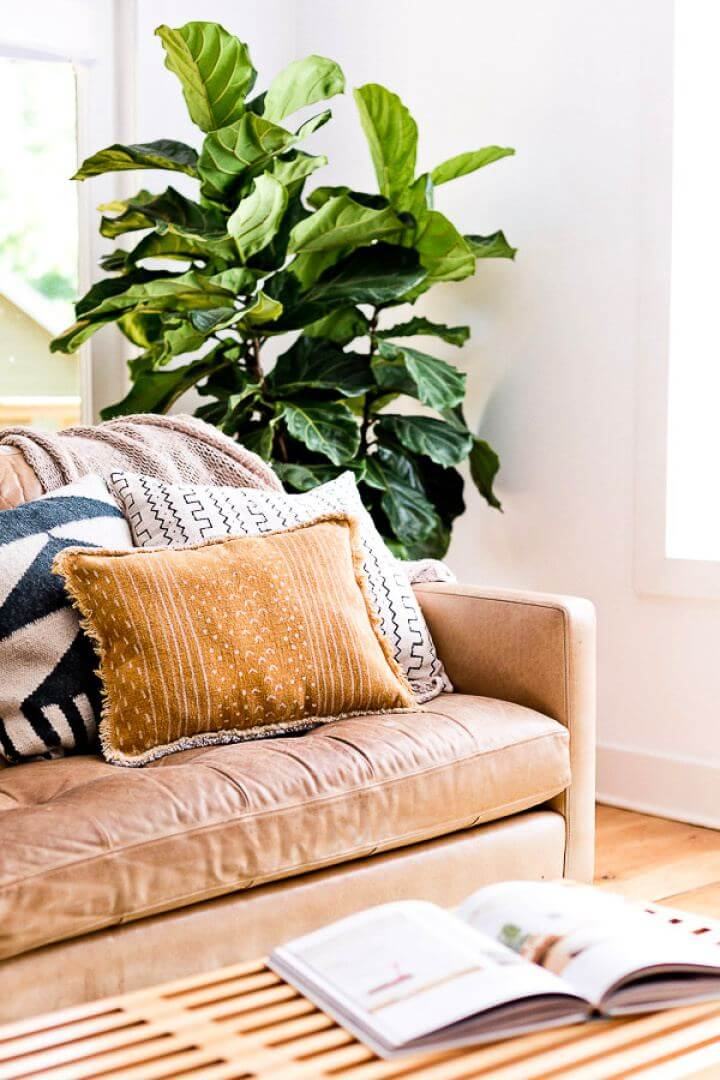 How To Sew A Reversible Pillow For Living Room