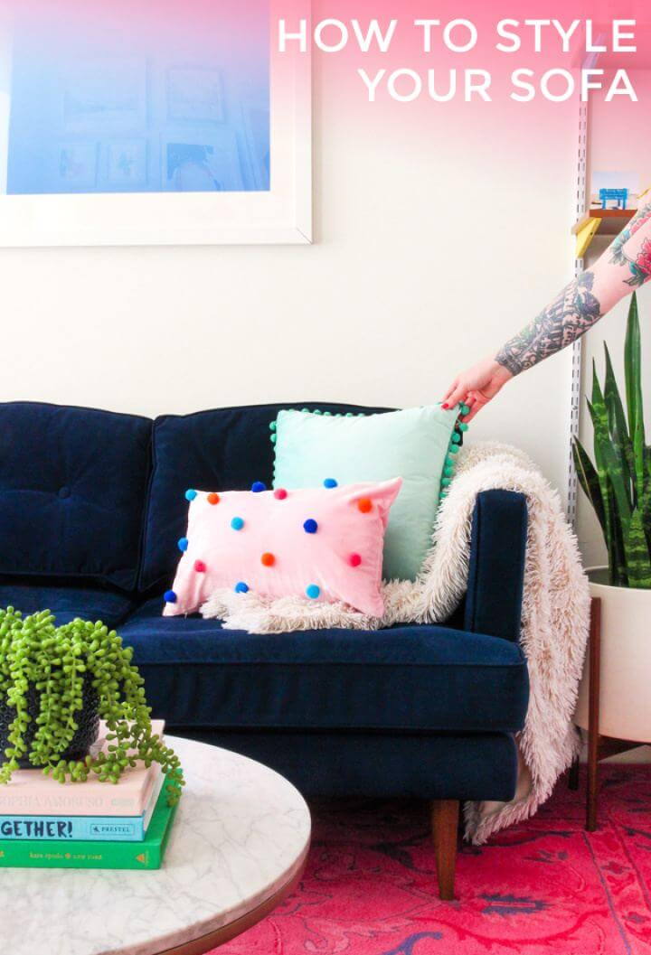 How To Style Your Sofa For Living Room