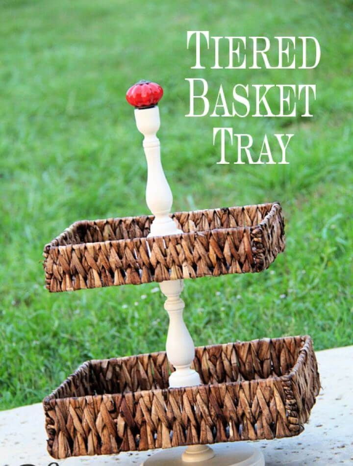 How To Tiered Basket Vanity Tray
