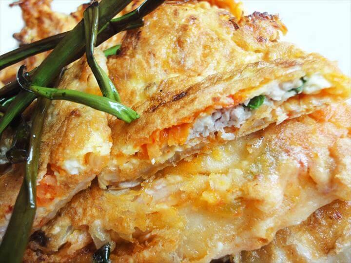 Kimchi pancake (Kimchijeon) recipe