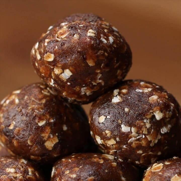 Oatmeal Raisin Energy Balls Recipe