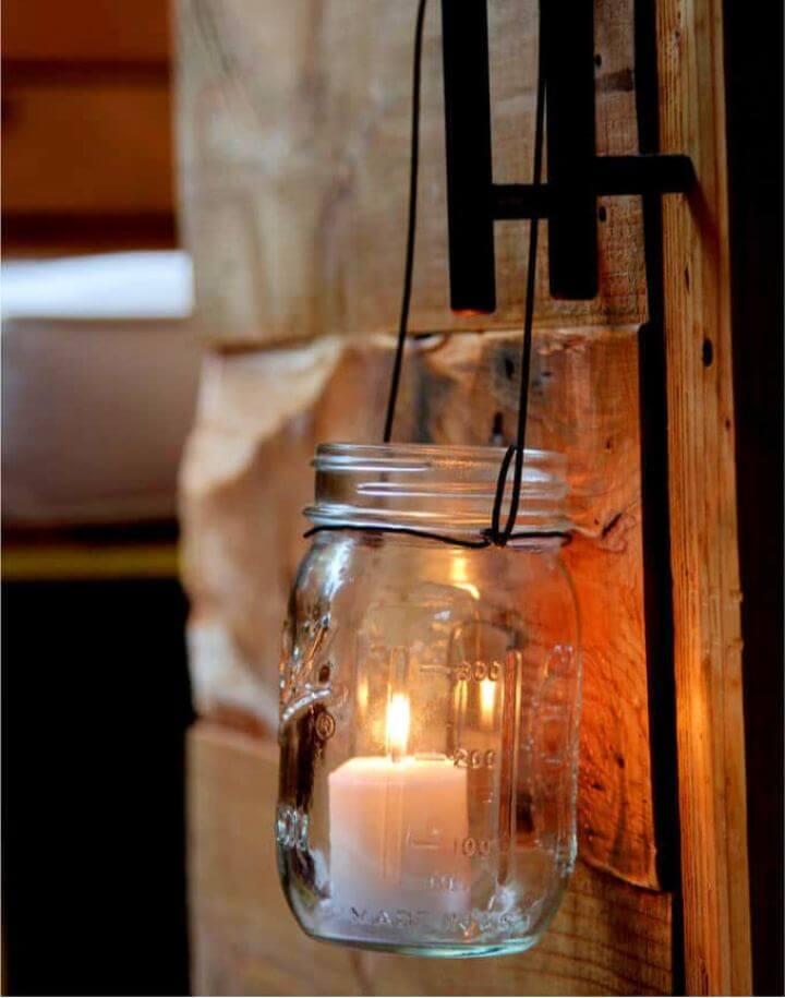 Magical DIY Hanging Mason Jar Lights Tutorial