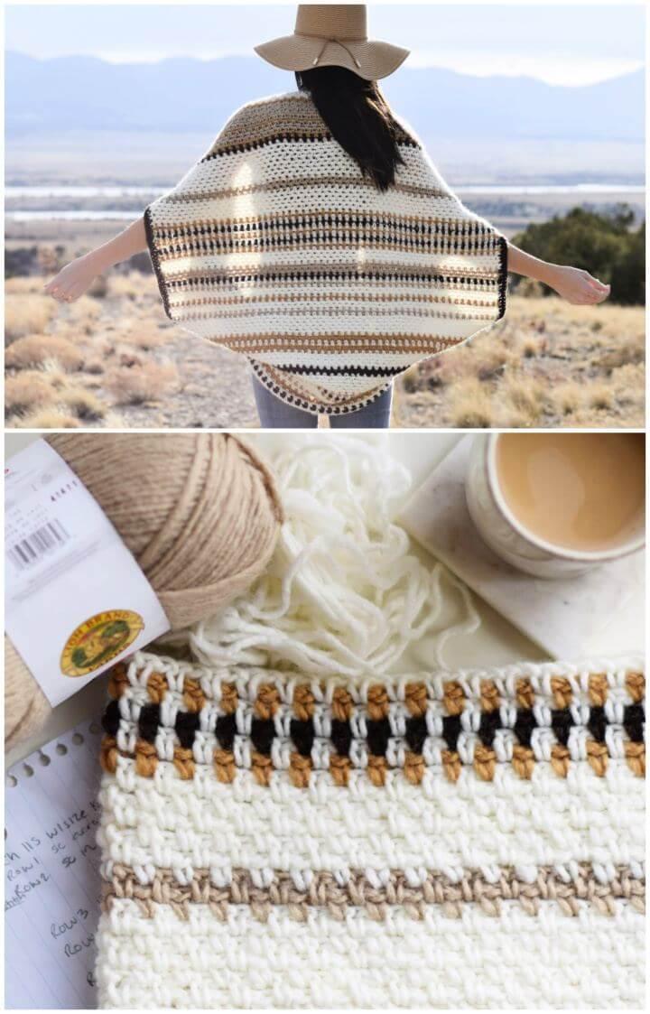 Make A Baja Blanket Sweater Crochet Pattern